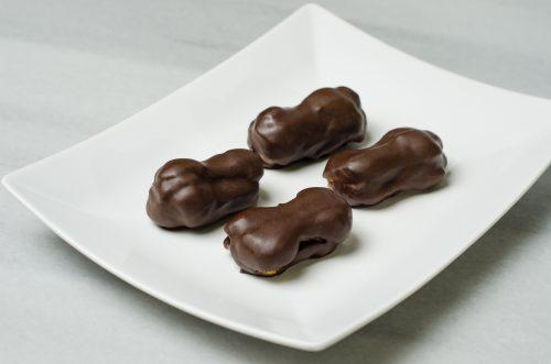 mini ecler ciocolata