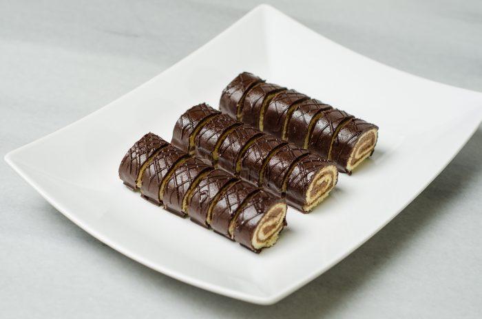 minirulade ciocolata