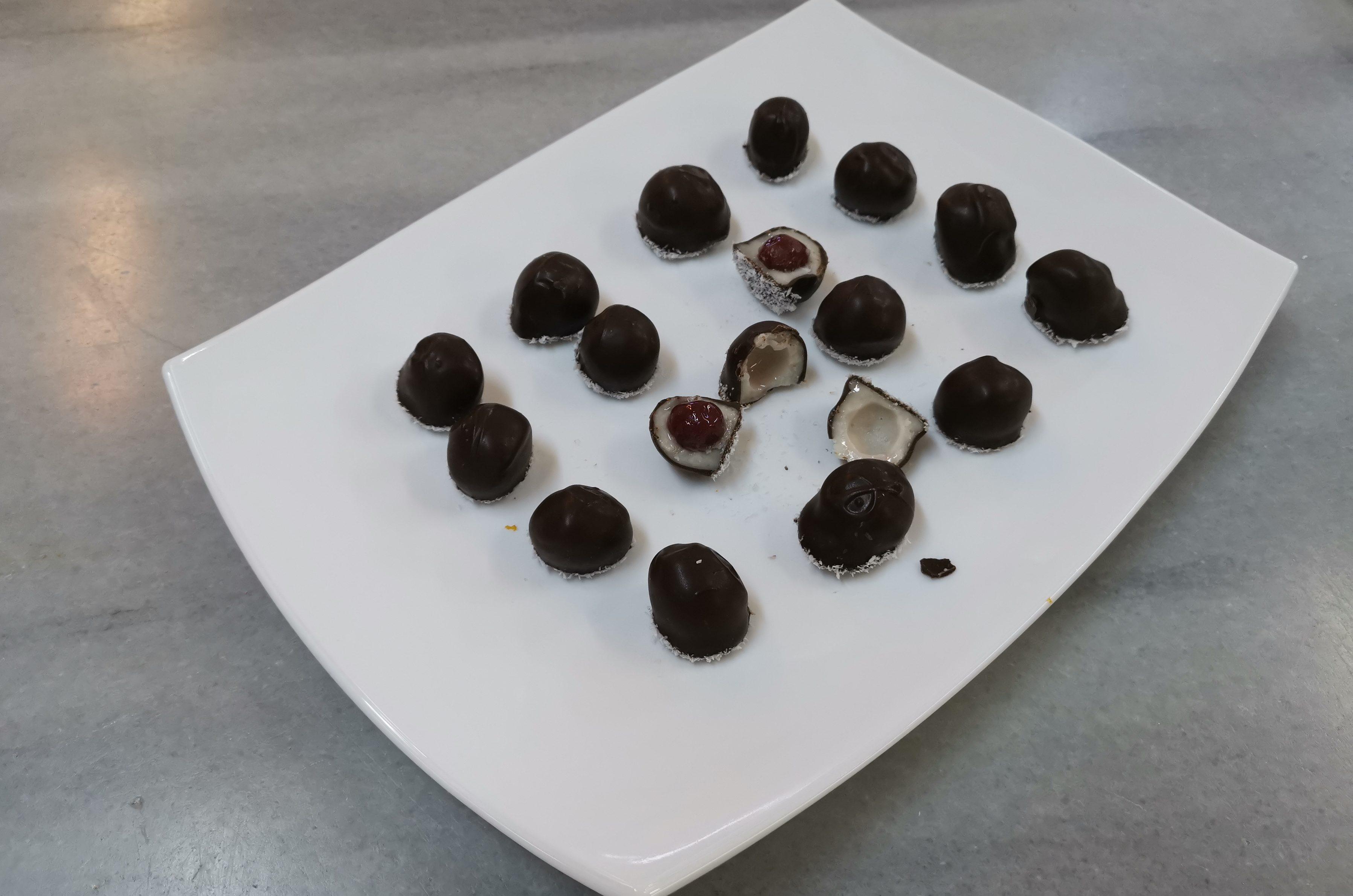 Visine in ciocolata